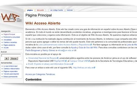 Wiki Acceso Abierto