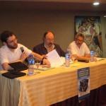 Mesa con participación de H. López y A. Pisnoy