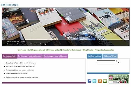 Biblioteca Utopía - Portal de Servicios
