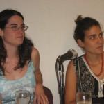 Julia Cabrejas y Laura Casareto 21-dic-2009